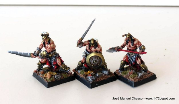 28mm Red Box Games – Evil Barbarians
