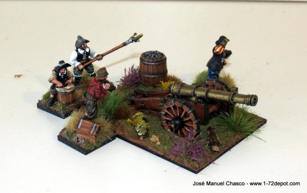 28mm Warlord Games – Demi-culverin cannon