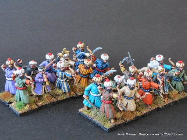 28mm Walord Games – Azabs (Azap).