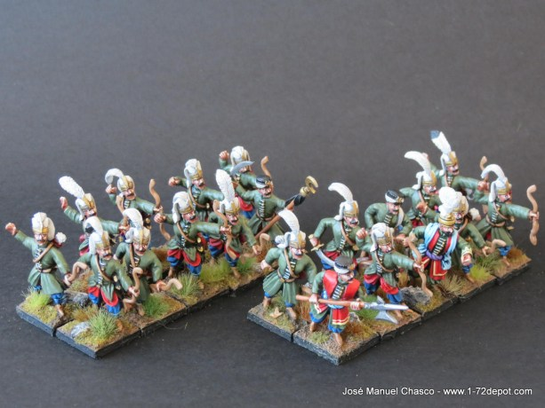 28mm Warlord Games – Janissaries with Bow.
