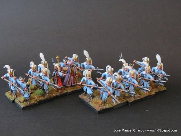 28mm Warlord Games – Janissaries with Halberd.