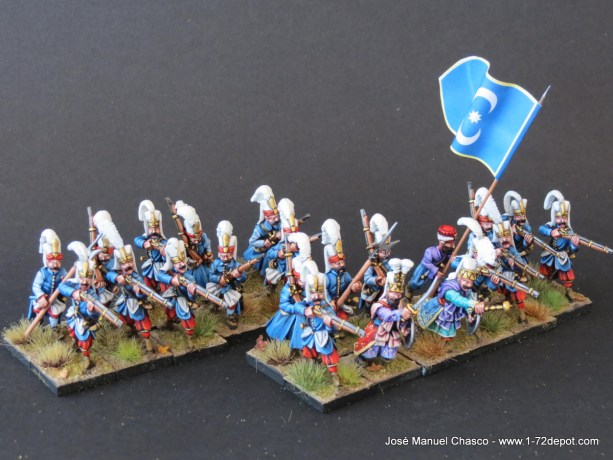 28mm The Assault Group – Warlord Games – Janissaries with Musket (3).