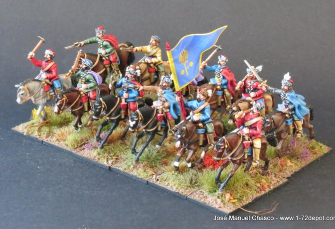 28mm Warlord Games – Croat Light Cavalry