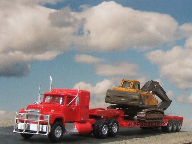 Mack Rs700 Truck Tractor Amp Lowboy