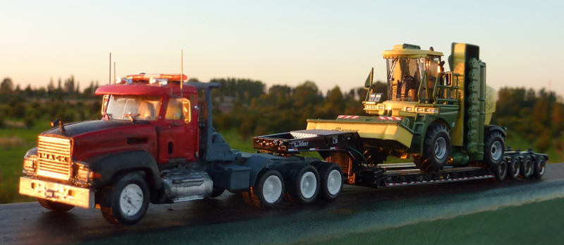 Mack Rawhide Truck Tractor Amp Talbert Lowboy Trailer