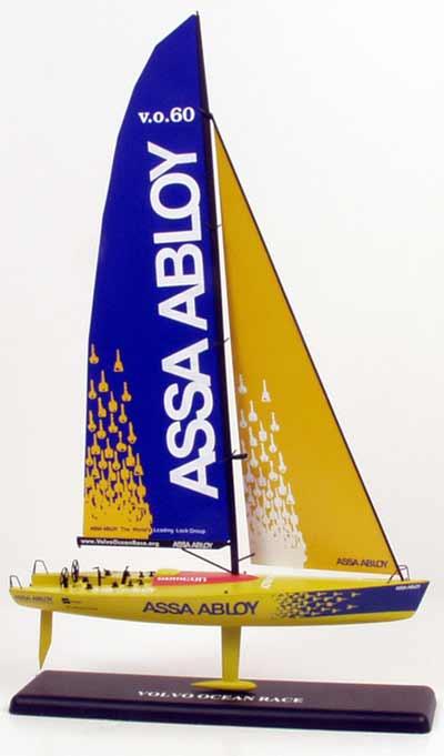 187 Scale Racing Yacht