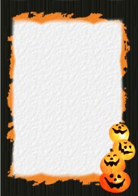 halloween stationery templates free