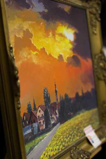 Gemälde, das den Titel des Bildbands ziert. Foto: S. Leppert/Förderverein