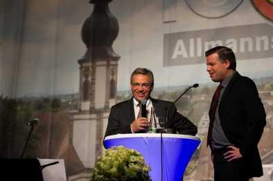 Weltenbummler Dr. Thomas Foerster im Gespräch mit Josef Gruseck Foto: S. Leppert / Förderverein