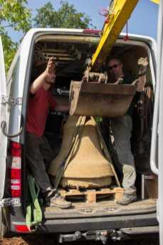 26 Mai 2016: Glockenguss in Allmannsweier Fotos:© Förderverein und Fotografen