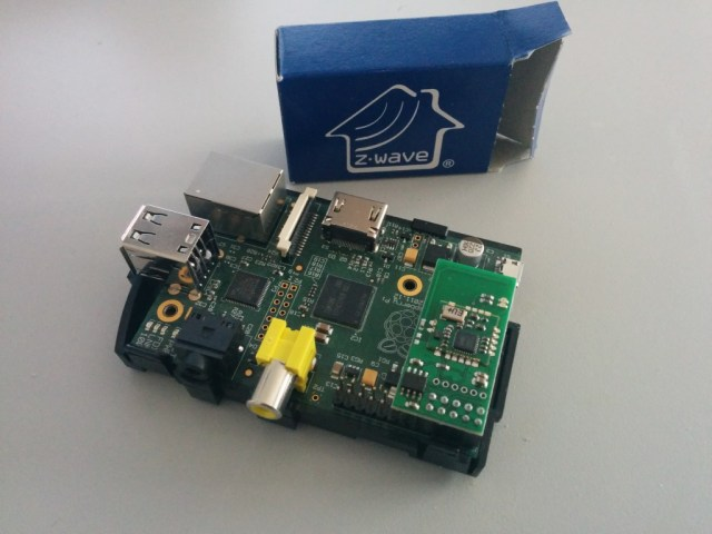raspberry pi z-wave razberry domotica