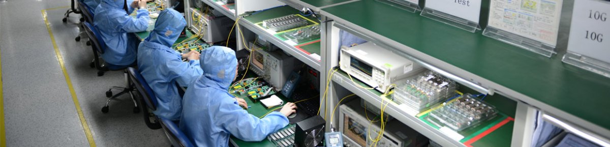Transceivers being made