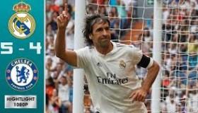 Real Madrid 5 vs 4 Chelsea highlights 23.6