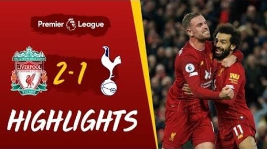 Liverpool vs Tottenham Hotspur highlights