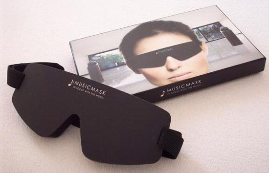 В Амстердаме была разработана специальная маска для прослушивания музыки - Musicmask