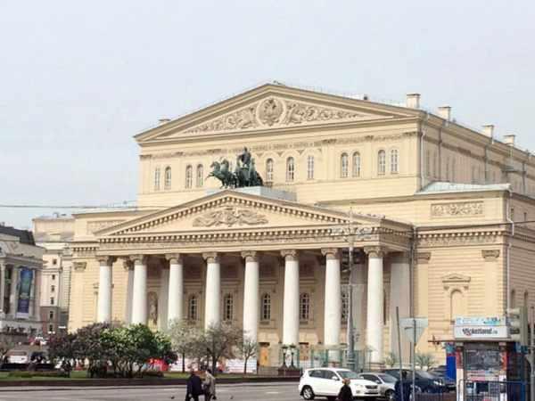Большой театр, Москва, Россия: описание, фото, где ...