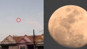 โคตรชัด!! ลองกล้องใหม่ Nikon P900 ถ่ายจากพื้นเห็นดวงจันทร์ ชัดมาก เกือบเห็นกระต่าย!!