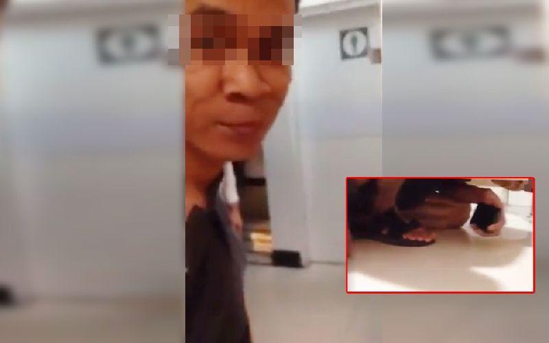 ชมคลิป!! สาวใจเด็ดวิ่งไล่ตามจับตัว หนุ่มแอบถ่ายในห้องน้ำหญิง ใบห้างดัง หลักฐานคามือ