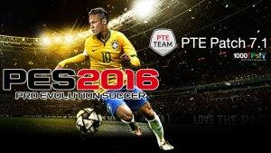 PTE Patch 7.1 FINAL UPDATE สำหรับ PES 2016 ออกแล้ว ดาวน์โหลดได้ที่นี่