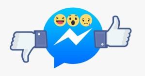 Facebook เริ่มทดสอบ ปุ่ม Dislike และปุ่ม Reaction สำหรับ Facebook Messenger แล้ว