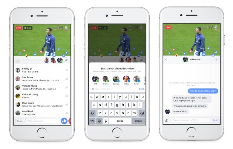 Facebook Live เพิ่มฟีเจอร์ใหม่ Live Chat with Friends แชทส่วนตัว ชวนเพื่อนมาถ่ายทอดสดได้ด้วย ระหว่างดู