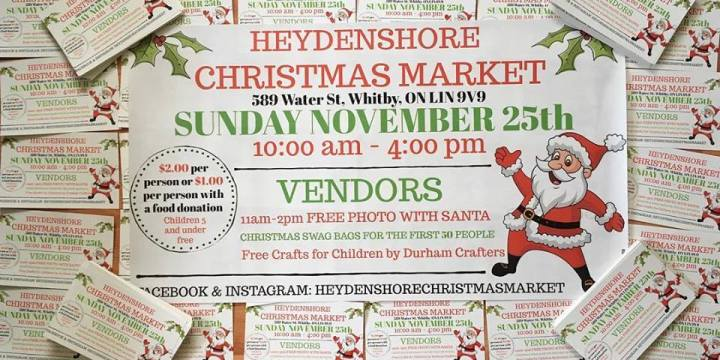 Whitby ON: Heydenshore Christmas Market