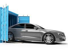 car on container