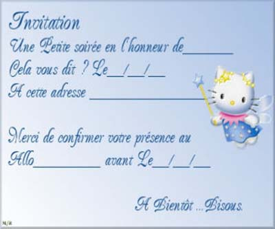 carte invitation d anniversaire gratuite