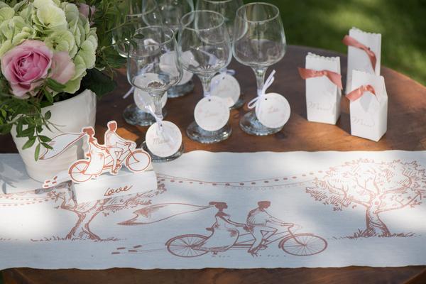Chemin De Table Mariage Original Et Champtre Dcor