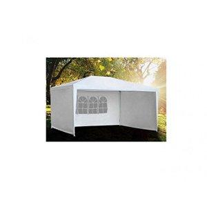 Tente de réception avec fenêtres 3X4 m