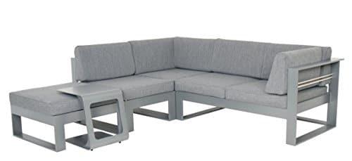 Meubles de jardin Canapé lounge Salon de Stratos Aluminium