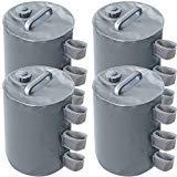 ABCCANOPY Sac de Poids de l'eau de canopée, Poids de Jambe portatifs-Gris
