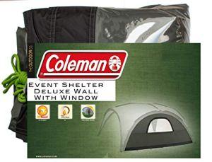Coleman Deluxe Sunwall Window – – vert tapis tente