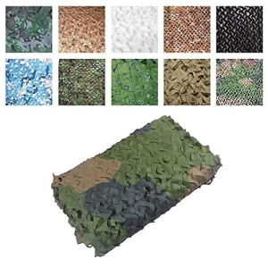 Filet de camouflage de protection solaire, Protection Contre Le Soleil Camouflage Net 4x5m Parasol Camo Netting Jardin Décoration Net Tente De Pêche Camping Parasol Couverture De Voiture Net Jungle Ch