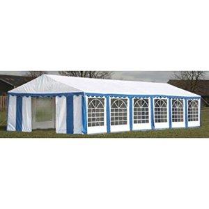 FZYHFA Tente de réception Bleu Grande Tente Cas avec Indice de Protection Solaire 12x 6m