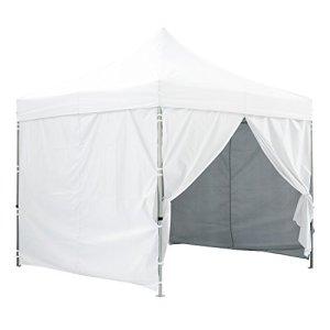 GREADEN – Tente pliante avec 4 murs amovibles 3x3m / 3×4.5m PREMIUM LIGHT – Tube 32mm en acier – Bâche 420D – Barnum pliante – GR-1FAM33/345420AO (3*3, Blanc)