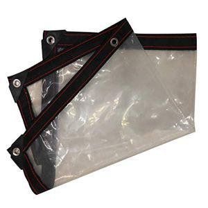 Imperméable, résistant à l'air et au Vent, Anti-UV, 17 Dimensions, Clear, 3X4M
