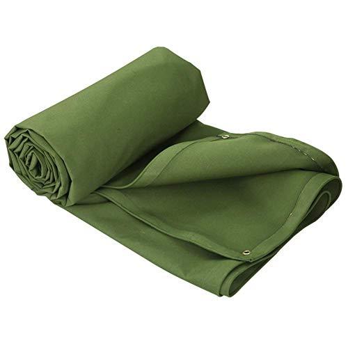 TENT Heavy Duty Tarp Cover vert, liez étanche pour Bâche Tente Canopy, Bateau, Rv ou Pool Cover, Housse, feuille de camping, Isolation Greenhouse Film, plastique Canopy,8M x 6M