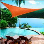 QI-CHE-YI Tente, Pavillon imperméable, Transparent Ruban Robuste pour Le PVC Tente Coated/Auvent/Pavillon/Couverture,3x6m