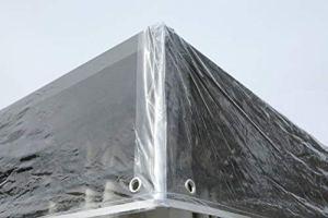 Grasekamp Bâche de Protection pour pavillon Transparent 3 x 4 m