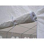 Mon Usine SCR-009 5X10 ALL SW Pergola Tente de Jardin Blanc 1000 x 500 x 330 cm