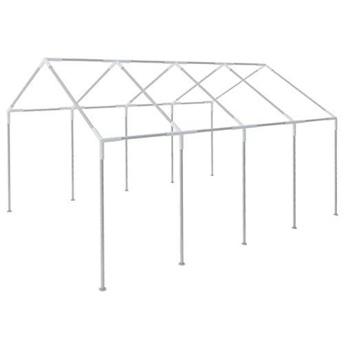 vidaXL Cadre de tente de 8 x 4 m Acier