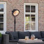 Fargau G-Sun Industriel Chauffage de terrasse Parasol Chauffant très Design et Efficace – 3 Positions de Chauffe