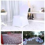 Housse de chaise, utilisé for le banquet, mariage, fête, Hôtel, Restaurant Décoration, Avec superélasticité, Durabilité, Elasticité, longue durée Un total de 100 pièces
