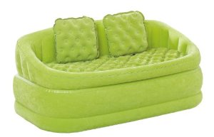 INTEX 68573 Canapé Lounge Gonflable Vert 157 x 86 x 69 cm