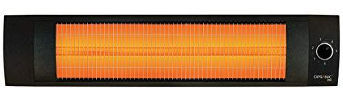 OPRANIC PRO Radiateur Electrique infrarouge | 1500 Watts & IPX4 | Chaufferette Electrique, Chauffage Electrique Infrarouge, Chauffage Exterieur Terrasse Electrique, Parasol Chauffant Exterieur