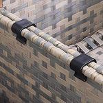 Meubles de Patio extérieur Clips Clip de canapé en Osier 10 pièces Rotin Canapé Connexion Fixations de Chaise Couper ou Module Clips de Montage Canapé d'extérieur Canapé Meubles de Patio antidérapant