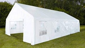 Oviala Tente de réception 6x12m 300gr/m²