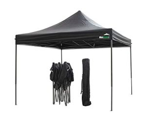 MaxxGarden Tente de réception Pliante 3×3 – à Utiliser comme pavillon, pergola, Tente de Jardin, chapiteau tonnelle – Anthracite