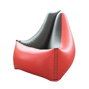 POHOVE Canapé gonflable, pliable et confortable, durable et portable, en PVC épaissi, canapé gonflable pour salon, chambre, salle de jeux, charge maximale : 100 kg
